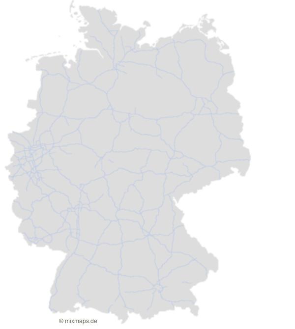 Deutschland Karte Autobahnen Und Städte.Das Deutsche Autobahnnetz Deutschlandkarte Mit Autobahnen Selbst